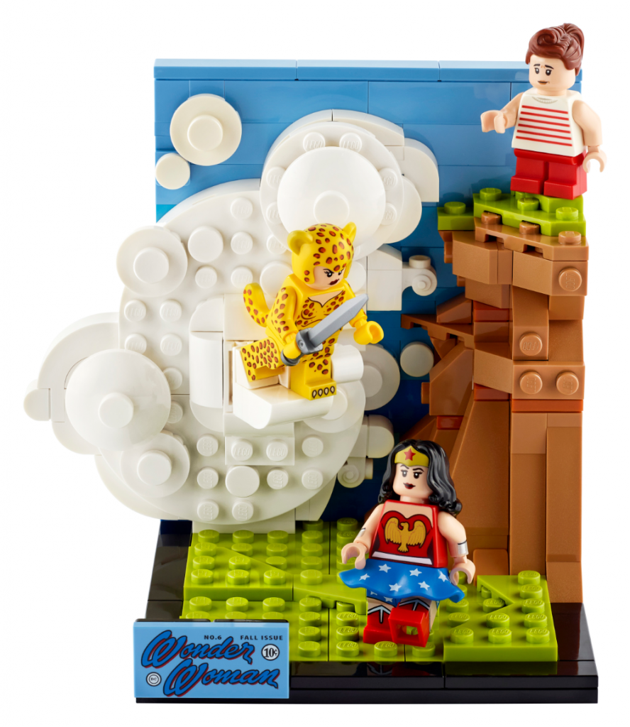 LEGO DC Wonder Woman 77906 Building Toy; Model Featuring Wonder Woman, Cheetah and Etta Candy (255 Pieces)