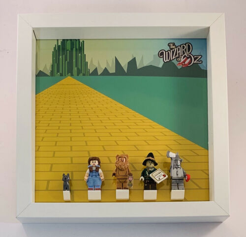 Details about Display Frame for Lego Movie 2 Wizard Of OZ minifigures Series 71023 no figures