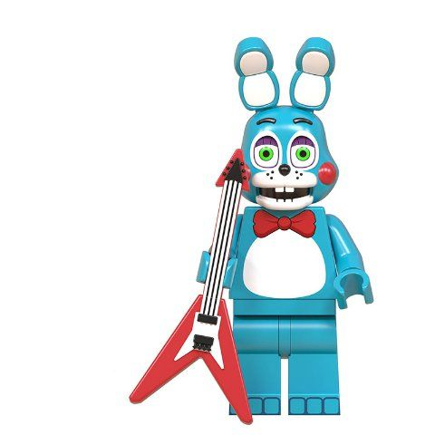 Five Nights at Freddy's Toy Bonnie Lego Compatible Building Block Figure Minifigure Minifig Doll Toy