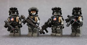 SCOPE Team V3 Custom Minifigures | Custom LEGO Minifigures