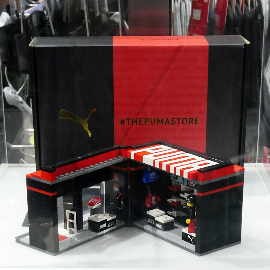 Lego Puma Store MOC (Malaysia flagship store special edition) Limited 100 sets