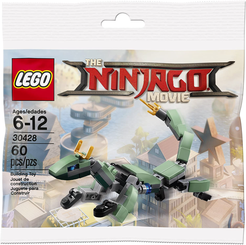 LEGO The Ninjago Movie 30428 Green Ninja Mech Dragon 60pcs Polybag MINI set