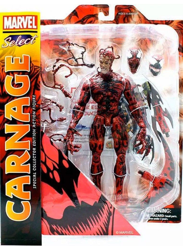 Marvel Select Carnage Action Figure on Mercari