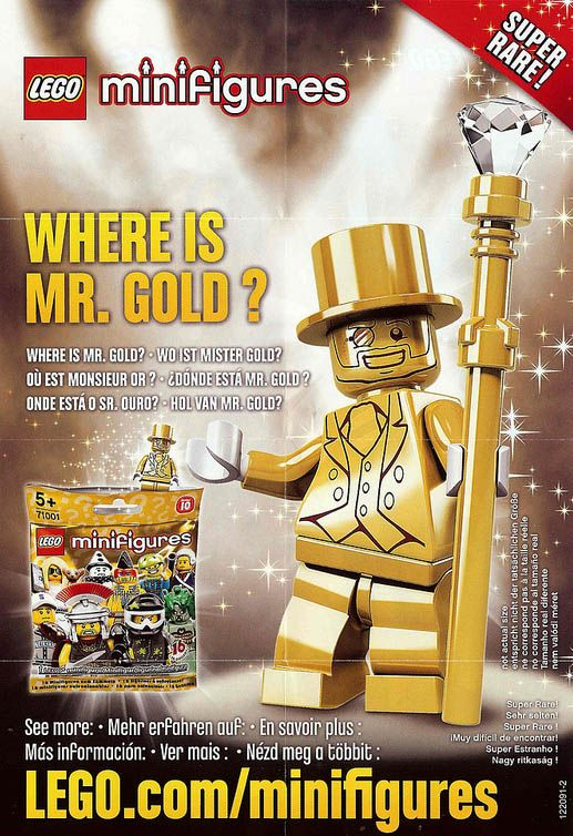 LEGO Minifigures Series 10 Gold Packaging and Inserts Revealed! – Bricks and Bloks