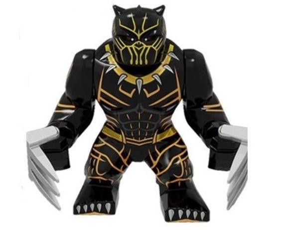 Grande Killmonger (Black Panther) customized minifigures