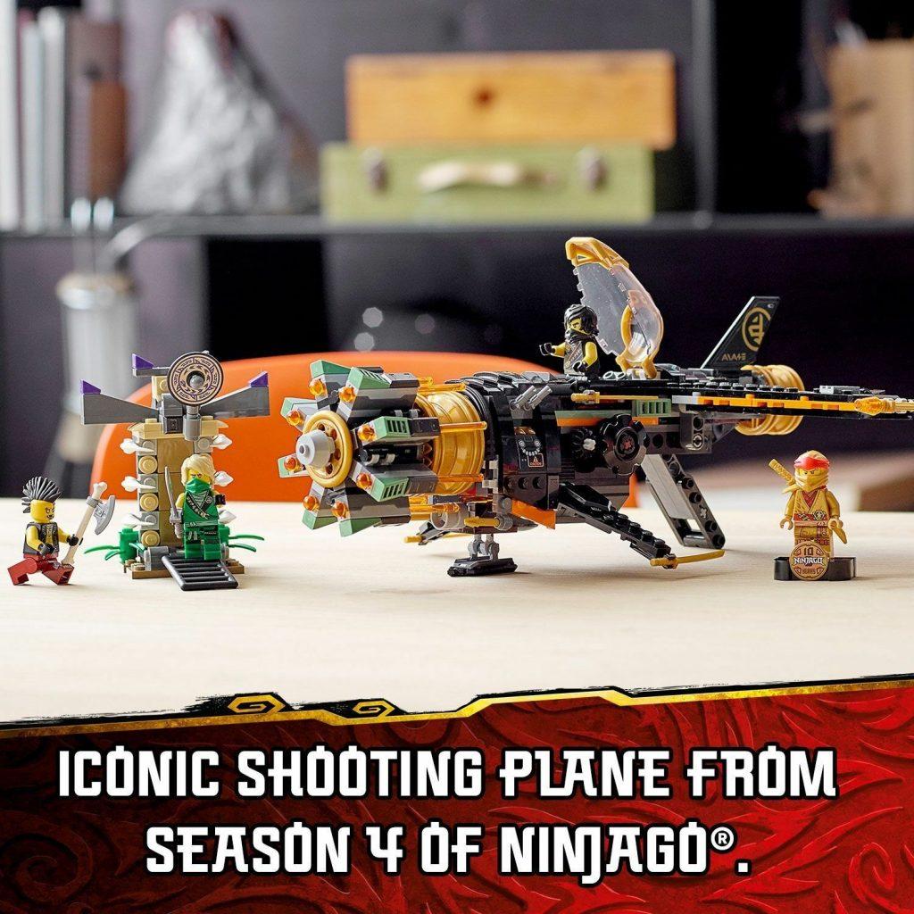 LEGO NINJAGO Legacy Boulder Blaster Aeroplane Toy 71736