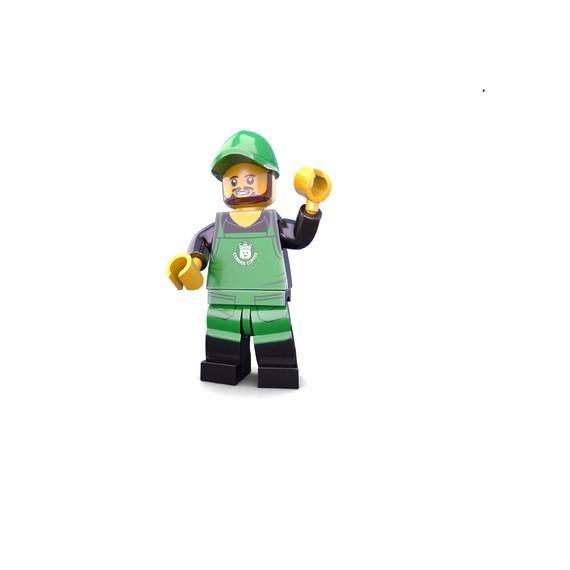 Barista Custom LEGO Minifigure LIMITED EDITION