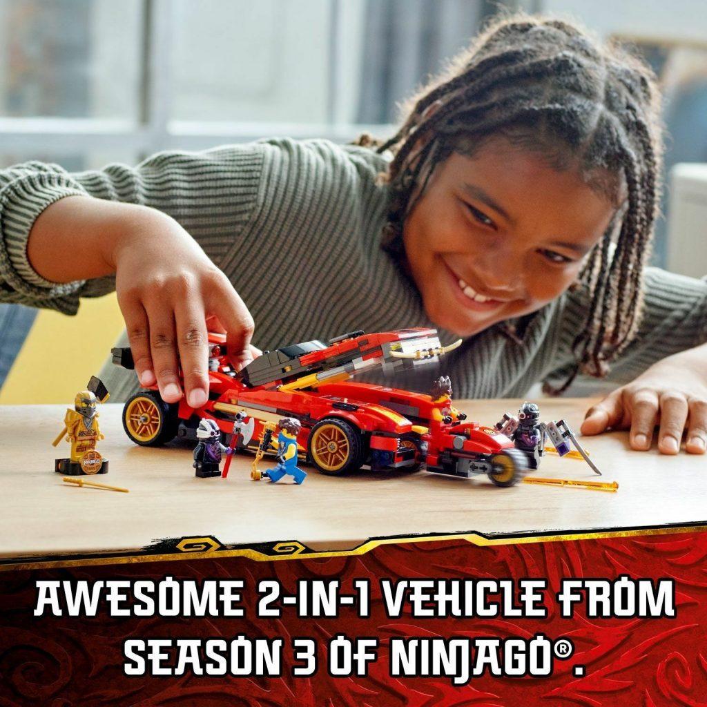 LEGO NINJAGO Legacy X-1 Ninja Charger Building Set 71737