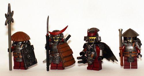 Japanese Troop Custom Minifigures | Custom LEGO Minifigures