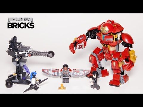 Lego Marvel Super Heroes 76104 The Hulkbuster Smash-Up Lego Speed Build with Minifigure Animation