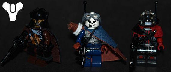 Destiny Fireteam Custom Minifigures | Custom LEGO Minifigures