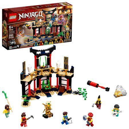 Lego Ninjago Legacy Tournament of Elements 71735 Building Toy (283 Pieces), Multicolor