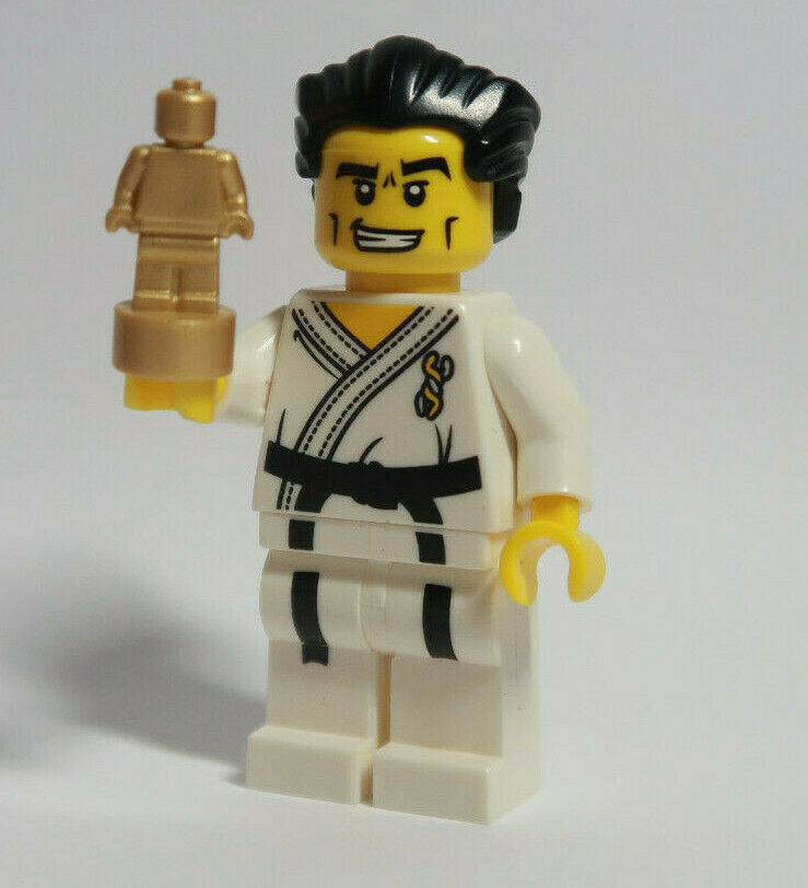 Details about Karate Master Series 2 Trophy CMF LEGO Minifigure Figure