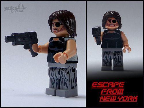 Escape From New York Snake Plissken Custom Minifigure | Custom LEGO Minifigures
