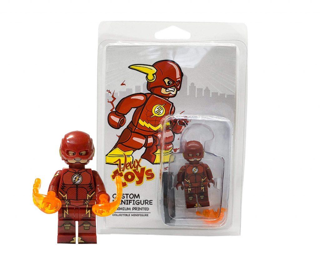 DC Comics  Custom minifigures Set The Black Flash ( Zoom ) ,Flash, Jay Garrick