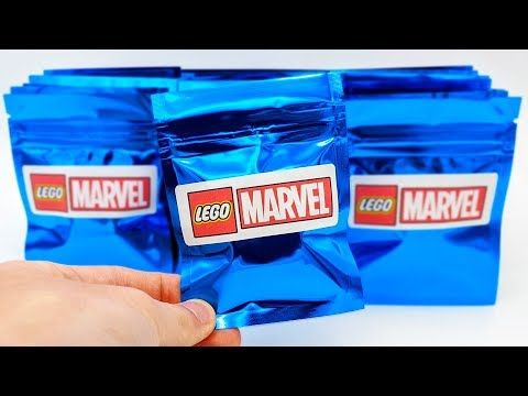 Mystery LEGO Marvel Minifigures – 20 Pack Opening! (RARE Minifigures!)