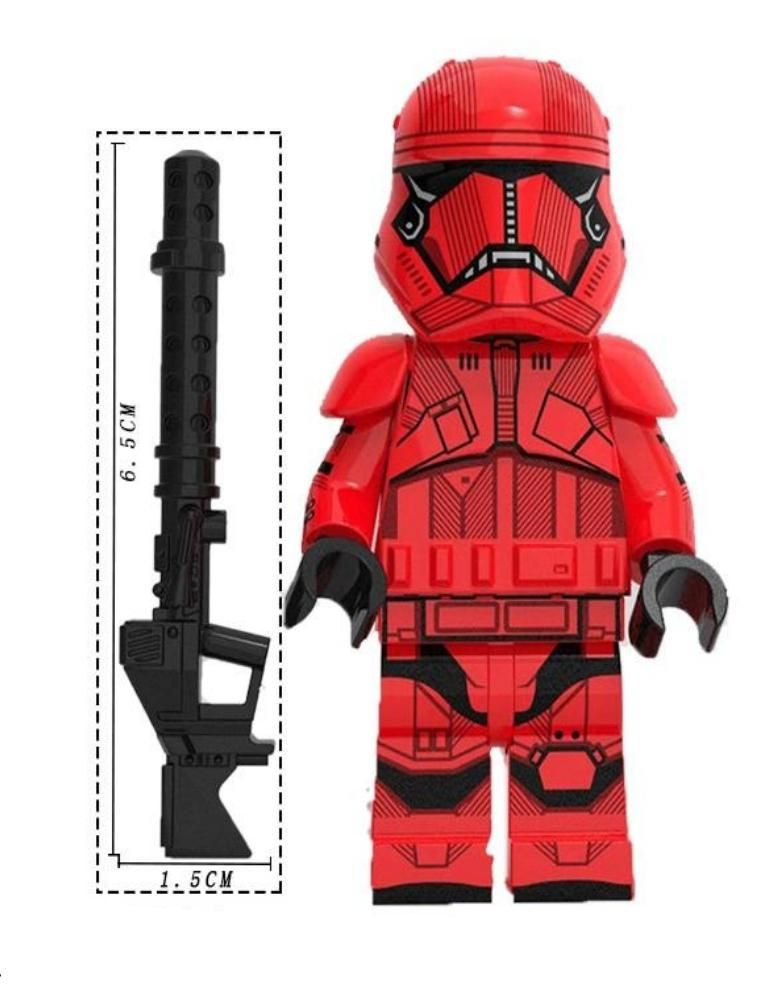 First Order Guard Custom minifigure. Brand new in package. Please visit shop, lots more!