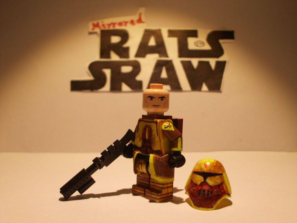 Lego Star Wars minifigures – Clone Custom Troopers – Geonosian Flame Trooper  | eBay