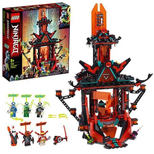 LEGO 71712 NINJAGO Empire Temple of Madness Building Set with 6 Minifigures, Ninja Toys for Kids