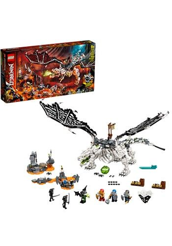LEGO Ninjago Skull Sorcerer's Dragon Building Set