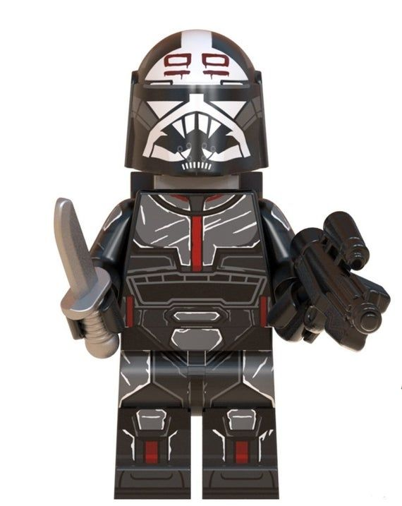 Wrecker Bad Batch Custom minifigure .   Brand new in package.  Please visit shop, lots more!