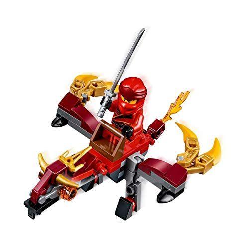 LEGO Ninjago Legacy Minifigure – Kai (Fire Dragon Polybag) 30535