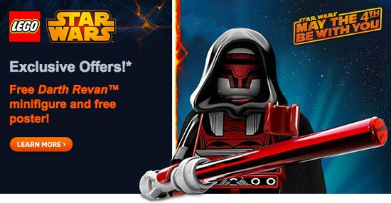 LEGO Store – Up to 50% off Star Wars LEGO sets, plus FREE poster and minifigure