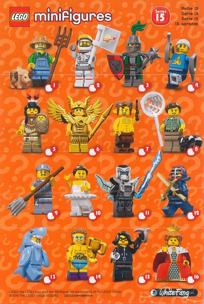 REVIEW: 71011 LEGO Collectable Minifigures Series 15