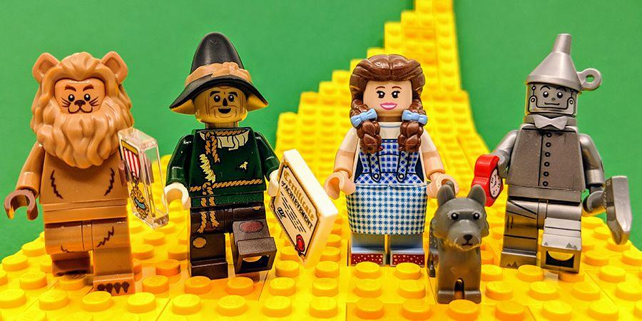 Building The Wonderful Wizard Of Oz   BricksFanz