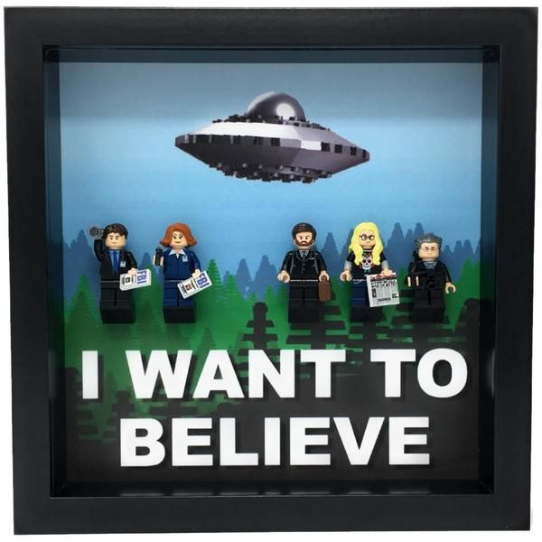 Frame for The X-Files custom Minifigures