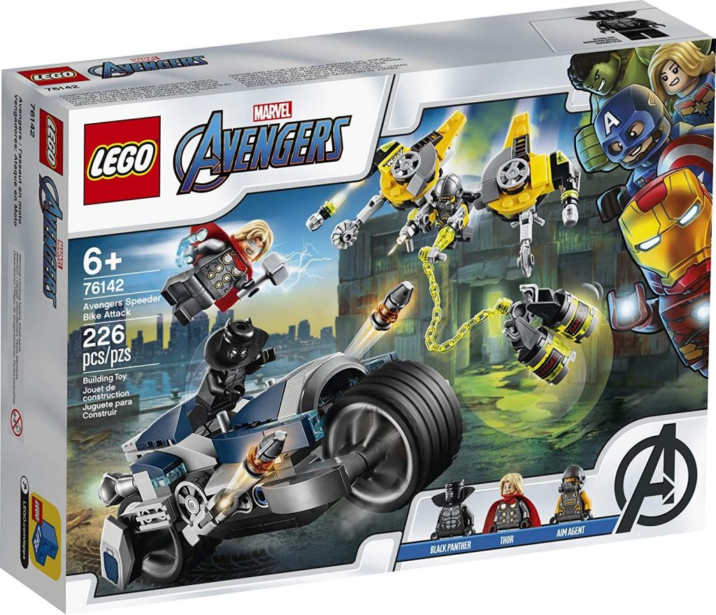 LEGO Marvel Avengers Speeder Bike Attack 76142