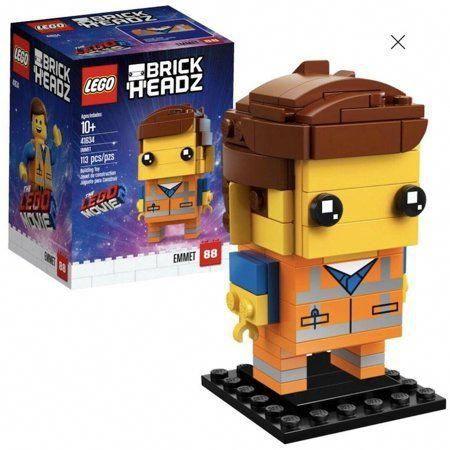 Lego 41634 BrickHeadz The Lego Movie 2 Emmet Limited Edition New with Box