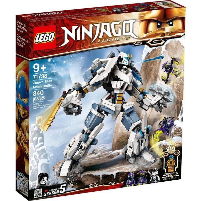 LEGO 71738 Zane's Titan Mech Battle – NINJAGO