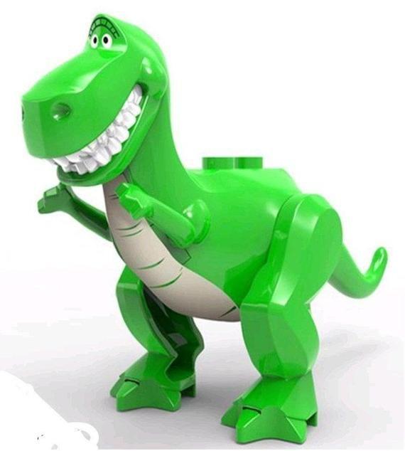 Rex Custom minifigure.   Brand new in package.  Please visit shop, lots more!