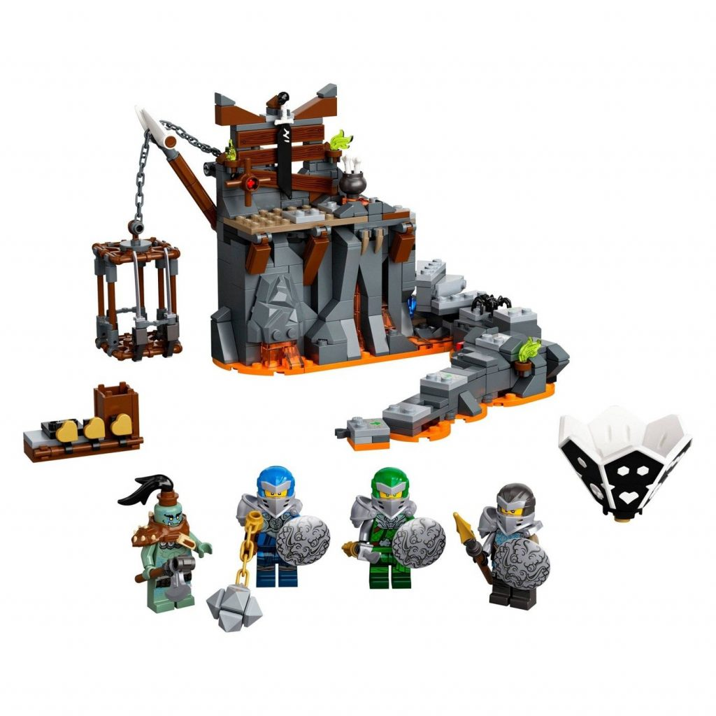 LEGO NINJAGO Journey to the Skull Dungeons Ninja Playset Building Toy 71717