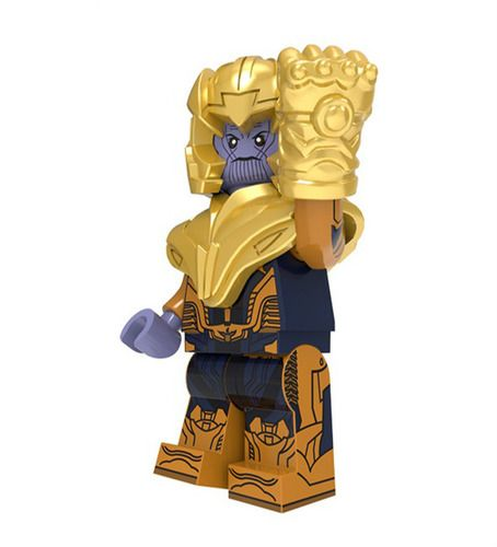 Thanos Avengers Endgame Custom Mavrel DC Super Heroes Minifigs Minifigures Fit Lego P2041