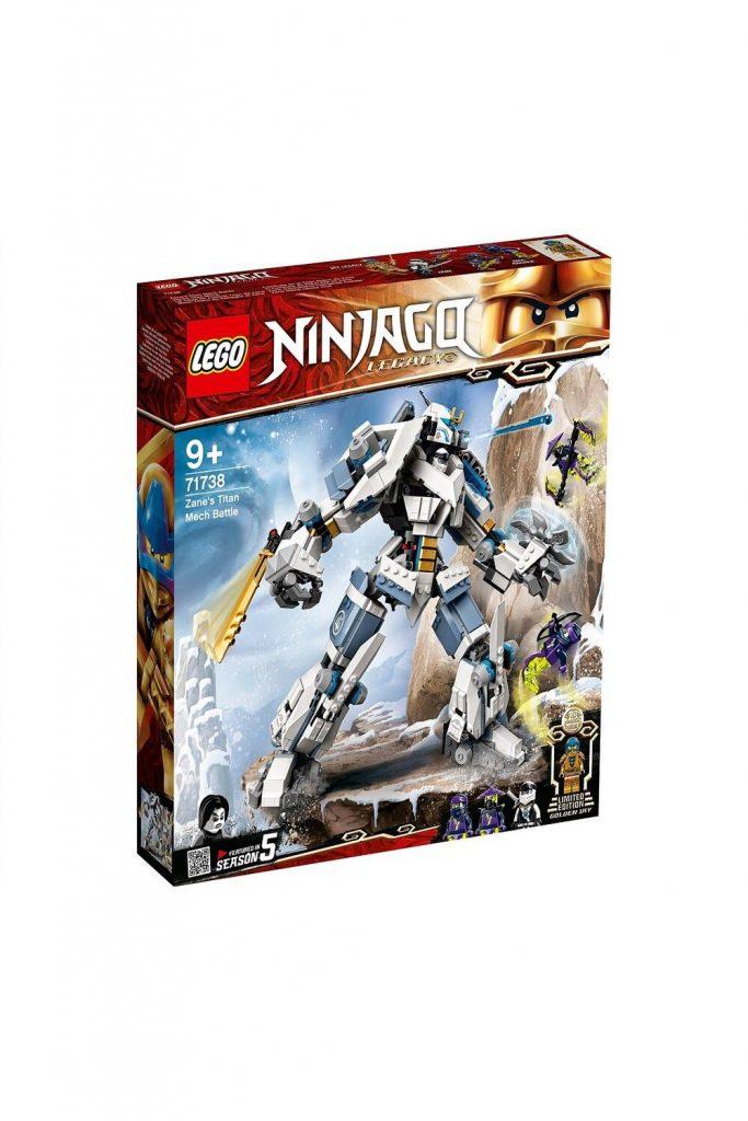 David Jones Lego 71738 Zane's Titan Mech Battle in Ninjago