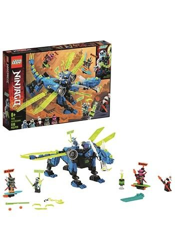 LEGO Ninjago Jay's Cyber Dragon Building Set