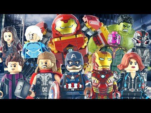 LEGO Marvel : Avengers: Age of Ultron Minifigures – Showcase