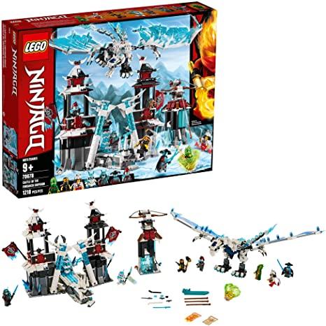 LEGO NINJAGO Castle of the Forsaken Emperor 70678 Building Kit (1,218 Pieces)