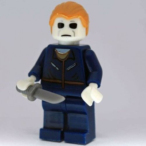 Michael Myers Halloween Horror Movie Custom Minifigure toy figure