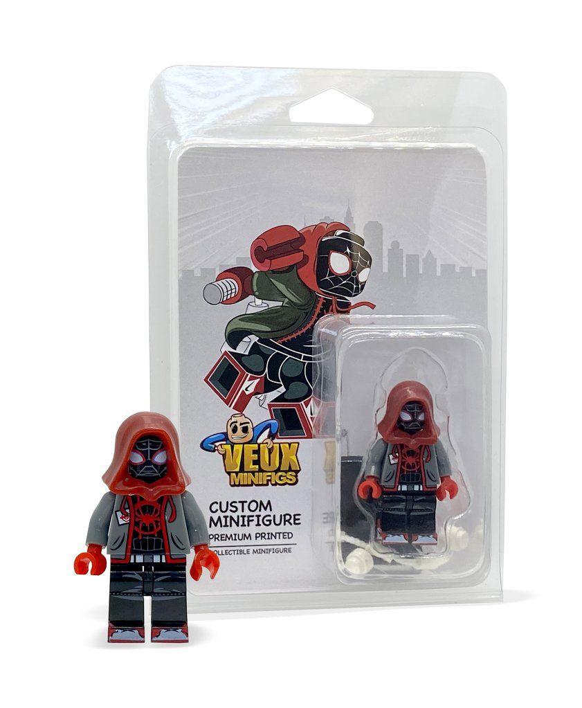 Spider-verse Miles Morales custom minifigure