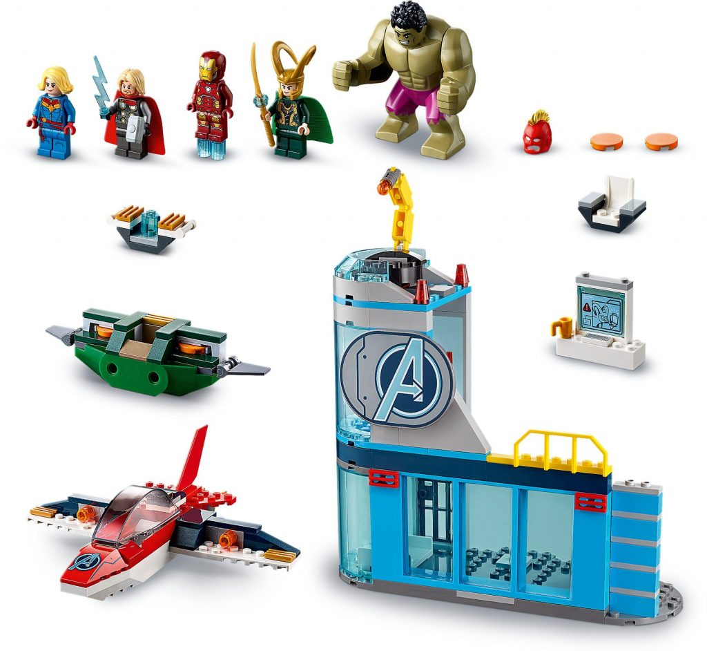 LEGO 76152 Avengers Wrath of Loki – Marvel Super Heroes Super Heroes 4+