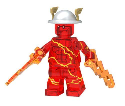 Flash Custom Marvel DC SuperHeroes Minifigures Toy Mini figure Minifigs Fit Lego Blocks P1342