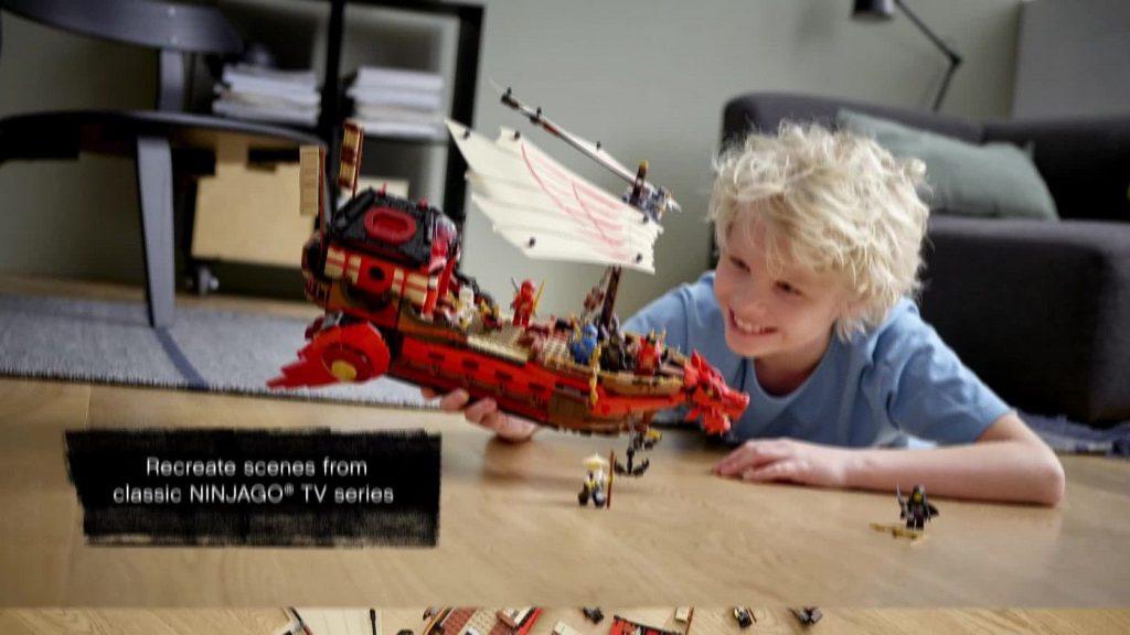LEGO NINJAGO Legacy Destiny's Bounty Ninja Playset Building Toy 71705