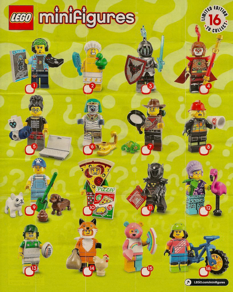 LEGO Collectable Minifigures Series 19 (71025)