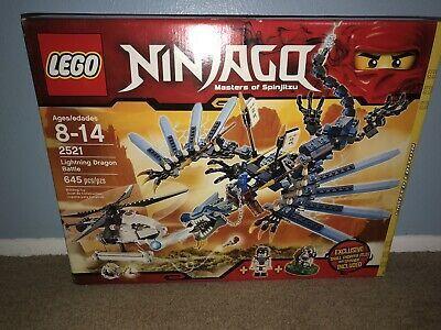 LEGO Ninjago Lightning Dragon Battle (2521) Sealed