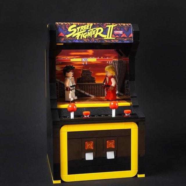 Street Fighter minifigures battle toe-to-toe | The Brothers Brick