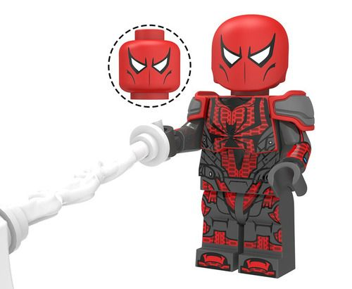 Spider-Armor MK 3 Spider-Man Custom Marvel Super Heroes Minifigs Minifigures Fit Lego XP205