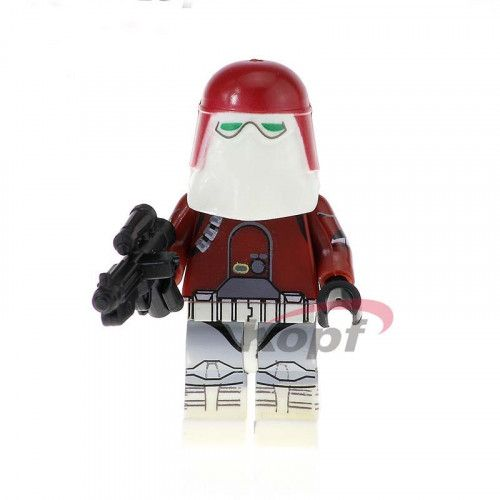 Red Snowtrooper Jedi Star Wars Custom Minifigure toy figure